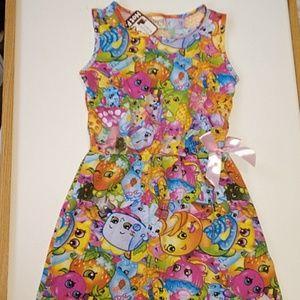 NWT Hotpet Shopkins Dress Size 120/ 6/6X